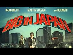 """This is just the mood I'm in right now; """"Martin Solveig Feat. Dragonette - Big In Japan (Les Bros Mix)"""". If you love electro, maybe you can relate..."""