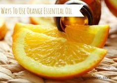 Ways To Use Orange Essential Oil - Denise In Bloom