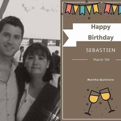 More birthday wishes from Martha Quintero swipe to see them both thanks Martha! #happybirthdayseb #sebsoloalbum #teamseb #sebdivo #sifcofficial #ildivofansforcharity #sebastien #izambard #sebastienizambard #ildivo #ildivoofficial #singer #band #musician #music #concert #composer #producer #artist #french #france #instamusic #amazingmusic #amazingvoice