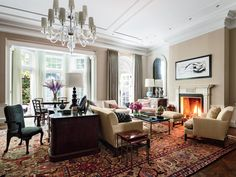 Design Firm Sawyer | Berson Revamps an Incredible Manhattan Townhouse | Architectural Digest
