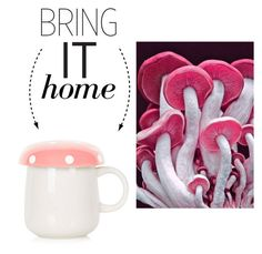 """""""Bring It Home: Mushroom Mug"""" by polyvore-editorial ❤ liked on Polyvore featuring interior, interiors, interior design, home, home decor, interior decorating, Topshop and bringithome"""