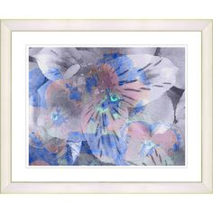 Found it at AllModern - 'Honey Flowers Breeze' Cloud by Zhee Singer Framed Painting Print
