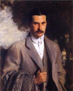 Portrait of American diplomat John Ridgely Carter (1862 - 1944). John Singer Sargent, 1901.