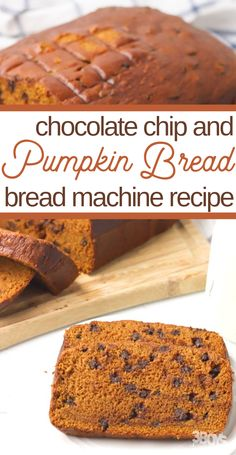 Easy Pumpkin Bread Machine Recipe I love this Pumpkin Bread Machine Recipe. It's so simple to put together and SO. Not kidding. So, break out your bread machine and dust off the top, because we're about to get bakin'! Pumpkin Bread Recipe For Bread Machine, Easy Bread Machine Recipes, Best Bread Machine, Bread Maker Recipes, Baking Recipes, Pumpkin Chocolate Chip Bread, Pumpkin Recipes, Just For You, Simple
