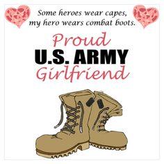 PROUD US Army Girlfriend
