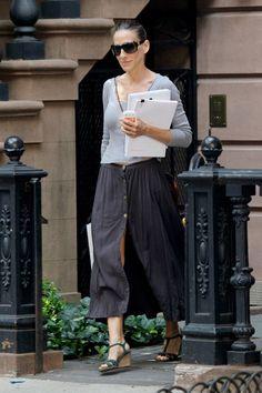 Sarah Jessica Parker Arrives at Her NYC Home