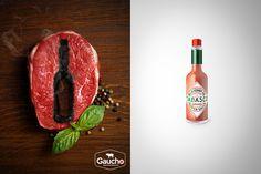 Alessio Criscuoli - TABASCO HOT Steak and Sheet - ADV - #masonry #massoneriacreativa #brotherhood - www.massoneriacreativa.com