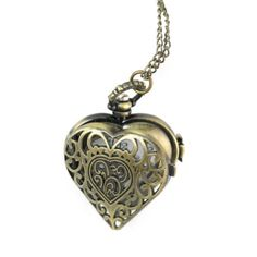Vintage Heart Pendant Watch Necklace with 15 Chain in Antique Gold Finish World Pride http://smile.amazon.com/dp/B0051I4QFG/ref=cm_sw_r_pi_dp_JCoKub0KP7N5B