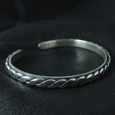 Silver medieval bracelet by Sulik on Etsy