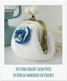 PATTERN Crochet Coin Purse by PitusasyPetetes on Etsy, €2.99