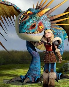 Stormfly and Astrid