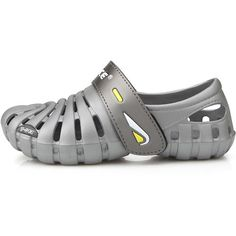 New Band Beach Aqua Water Sports Athletic Gray Womens Shoes Velcro Sandals 75 >>> Check out this great product.