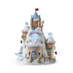 Department 56 North Pole Polar Bear Palace >>> Check this awesome product by going to the link at the image. (This is an affiliate link) Christmas Village Display, Christmas Village Houses, Christmas Villages, Christmas Design, Christmas Home, Christmas Gifts, Christmas Decorations, Christmas Wishes, All Things Christmas