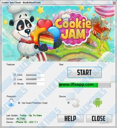 Cookie jam cheats hack tool free download working 100%