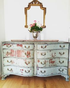 Gorgeous Cottage Styled Dresser Makeover - DD's Cottage and Design