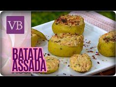 Batata recheada com Atum - Você Bonita (11/10/16) - YouTube