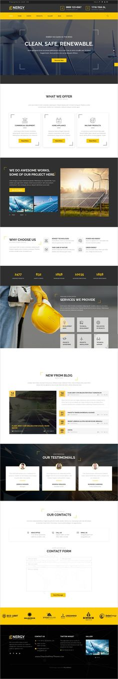 Energy is the new outstanding, extremely modern #WordPress Theme, designed for #energy efficiency company, #solar and alternative energy and eco friendly technologies websites download now➩ https://themeforest.net/item/energy-solar-and-alternative-energy-wordpress-theme/19153629?ref=Datasata