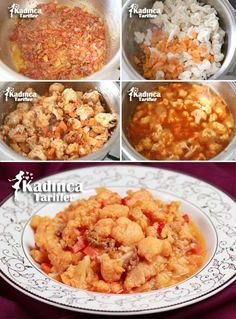 Minced Meat and Cauliflower Meal Recipe, How To? Mince Meat, Homemade Beauty Products, Chana Masala, Fried Rice, Cauliflower, Health Fitness, Ethnic Recipes, Desserts, Food