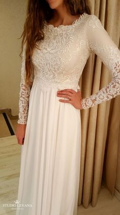 modest wedding dress with long sleeves from alta moda bridal (modest bridal gown… modest wedding dress with long sleeves from alta moda bridal (modest bridal gowns) Modest Wedding Gowns, Western Wedding Dresses, Wedding Gowns With Sleeves, Red Wedding Dresses, Wedding Dress Sleeves, Long Sleeve Wedding, Designer Wedding Dresses, Bridal Dresses, Wedding Attire
