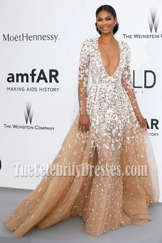 Chanel Iman wows in