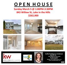 Join me & see why this is a great value in Lake in the Hills So much NEW your head will spin! NEW windows, furnace, A/C, light fixtures, carpet, granite countertops, garage door, shutters, rebuilt deck, freshly painted inside AND finished basement.