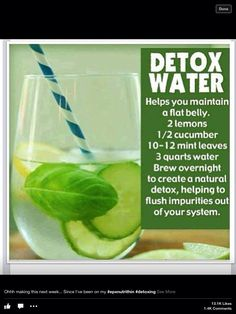 Get rid of toxins and flatten your belly too!