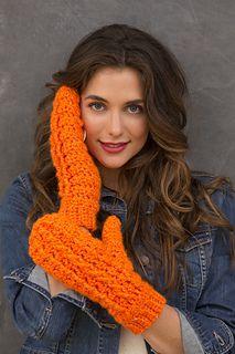 Redheart: Flip Top Mittens - free crochet pattern by Randy Cavaliere. http://www.redheart.com/free-patterns/flip-top-mittens
