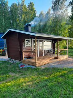 Shed, Outdoor Structures, Cabin, House Styles, Home Decor, Decoration Home, Room Decor, Cabins, Cottage