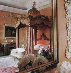 Lady Egremont's Petworth Bedroom, The Lit à la Polonaise.....Elaborate And Romantic Beds