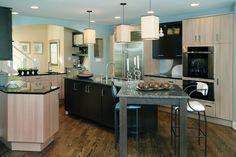 Contemporary Kitchen. Designer: Nancy Stanley, Kitchens By Design www.mykbdhome.com
