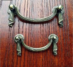 french style shabby dresser drawer pulls handles bronze drop kitchen cabinet pull handle knobs furniture hardware 64 by on etsy