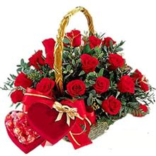 send roses, chocolate to lijiang online by lijing flowers shop delivery website