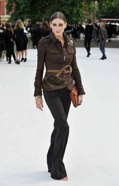 Olivia Palermo- Love the jacket!!