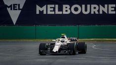 Sergey Sirotkin Williams FW41 qualifying at Australian Grand Prix, Melbourne - Saturday 24 March 2018