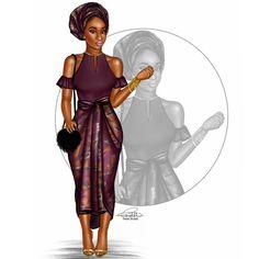 The Wedding Guest || Ms. 'Aso-Ebi Bella'