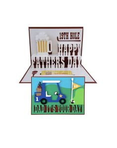 Hey, I found this really awesome Etsy listing at https://www.etsy.com/listing/191988436/fathers-day-golf-pop-up-card-3d-svg