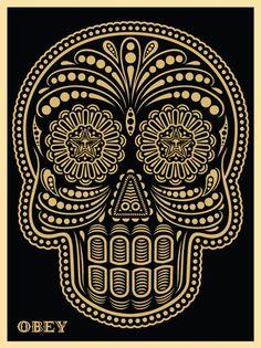 Fancy - Mexican Skull