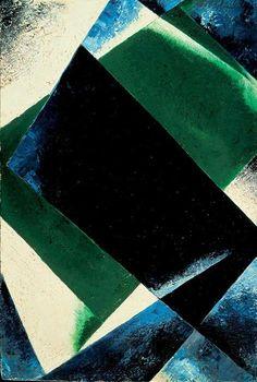 Lyubov Popova ~ Painterly Architectonic, 1918 (oil)