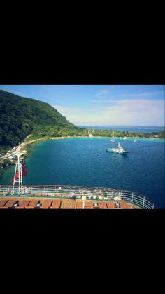Port Vila, Vanuatu . Aboard P&O cruise Pacific Dawn