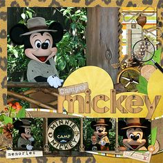 """Meeting characters on the """"Greeting Trail"""" - Page 9 - MouseScrappers.com"""
