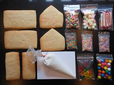 Make Your Own Sugar Cookie House Kit