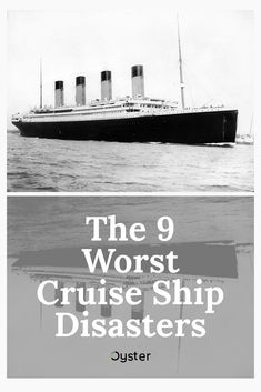 The Titanic isn't the only cruise disaster. From norovirus outbreaks to rough seas, here are the worst cruise ship disasters ever. Cruise Travel, Cruise Vacation, Titanic Sinking, How To Book A Cruise, Rough Seas, Deck Party, Boat Design, Gulf Of Mexico, Royal Caribbean