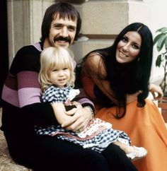 Cher, Sonny Bono, and daughter Chastity Bono Tom Selleck Movies, Cher Videos, Cher Photos, Divas, 80 Tv Shows, I Got You Babe, Cher Bono, All In The Family, 1970s