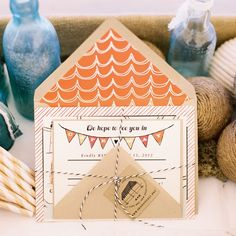 Beach Invitations // photo by: Trent Bailey Photography // Invitations: Swiss Cottage Designs // http://www.theknot.com/weddings/album/132659