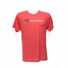 Camp Gladiator Red Triblend Shirt