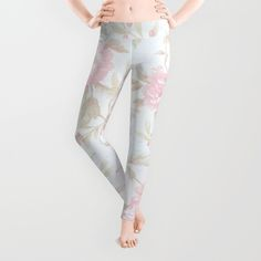 #vintage #roses #pretty #legging in different products. #society6 #homedecor