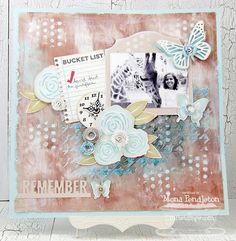 Contemporary Roses; Winged Beauties; Timeless; Journal It - Take Note; Contemporary Roses Die-namics;  Insert It - 3x4 Notebook Paper Die-namics; Mini Royal Roses Die-namics; Rolled Flower die-namics; Time Pieces Die-namics; Mini Album Fancy Ticket STAX Die-namics; Fancy Butterflies Die-namics; Pierced Rectangle STAX Die-namics; Graduated Dots Stencil; Houndstooth Stencil - Mona Pendleton