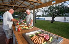 YUM. The barbeques are always great to use, all year round! Come show us your BBQ skills!! #bbq #big4forstertuncurry #yum