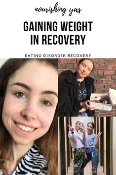 Gaining Weight In Recovery | Nourishing Yas - Eating Disorder Recovery  #EDrecovery #anorexiarecovery #anorexia #edawareness #mentalhealth #gainingweight #weightgainjourney #bodypositivity #eatingdisorderrecovery #beated