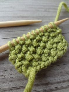 How to knit seed stitch (photo tutorial)